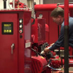 Fire Sprinkler System Pump