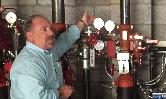 NFPA25 ITM Fire Sprinkler Systems